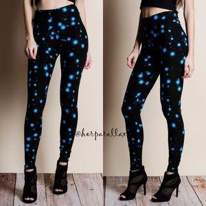 Pants - Constellation Printed Super Soft Leggings